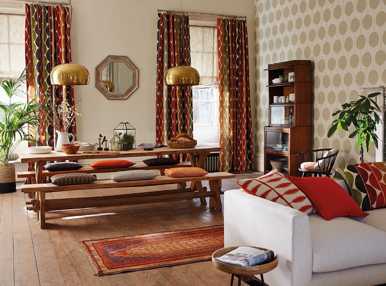 tribal interior design colours