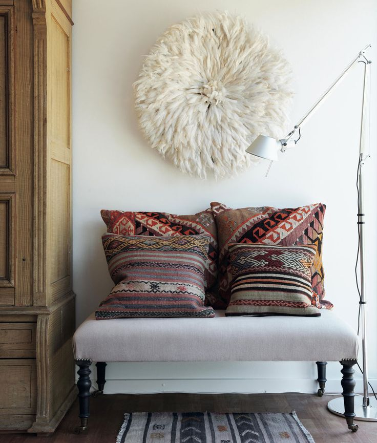 tribal print cushions