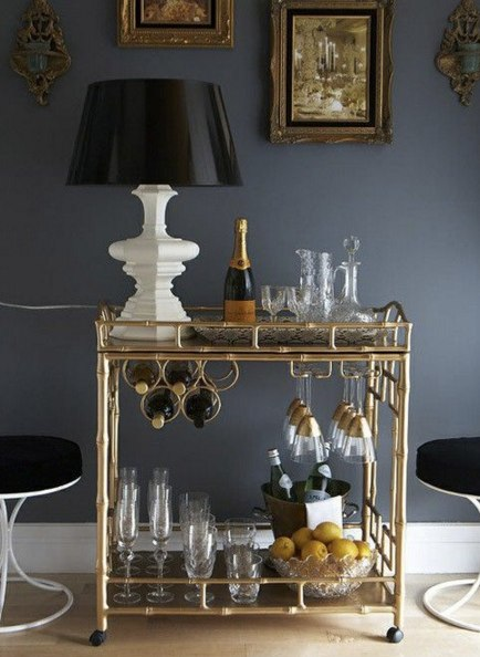 (3) bar cart | Home Decor | Pinterest | Bar Carts, Bar and Gold Bar Cart