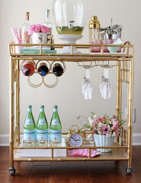 (4) Drink cart | House Idea_s | Pinterest | Bar Cart and Bar