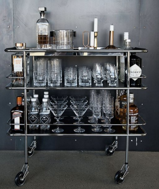 (4) bar cart | Bar cart | Pinterest | Bar Carts, Bar and Drinks Trolley