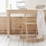 Office interior design - cerused timber furniture