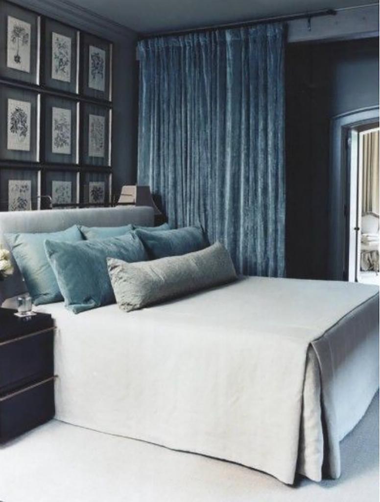 bedroom velvet boudoir