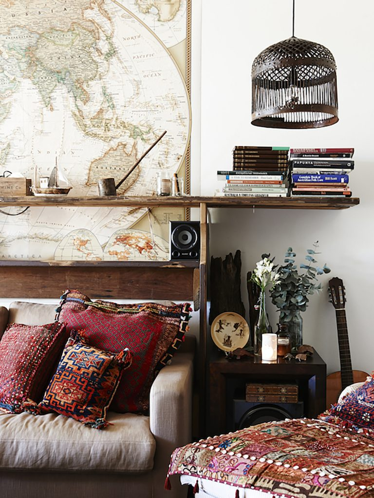 boho living room revamp your home
