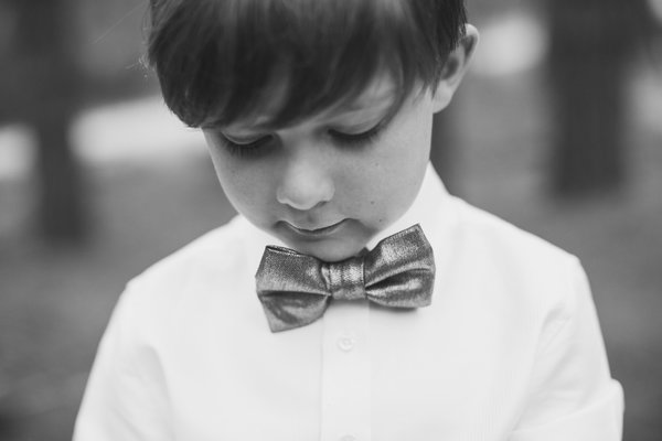 Withers son in bow tie