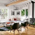 Rustic interior design - modern farm house style