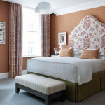 Famous interior designers - Rustic traditional flower bedroom