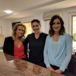 Famous interior designers - Kerena Berry backstage Channel9