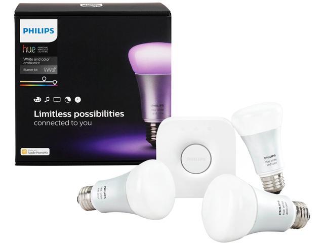 Modern living room ideas - Philips Hue ambiance light