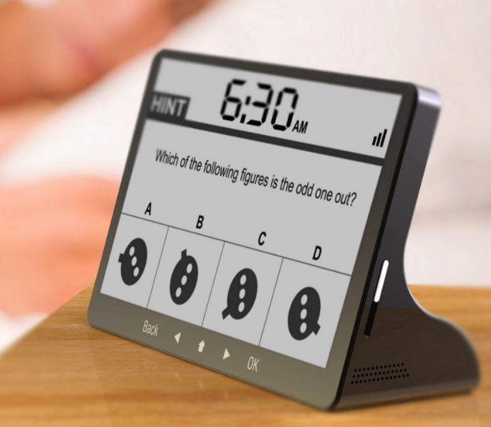 Modern living room ideas - gadget alarm clock