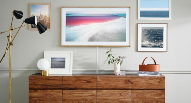 Modern living room ideas - Samsung The Frame TV
