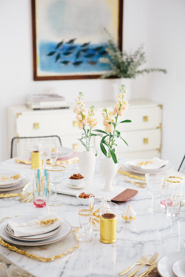 Home interior decorating styles - Queen dinner set up