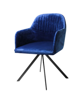 Designbx_Velvet Arm Chair