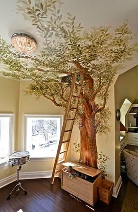 Kid's bedroom tree