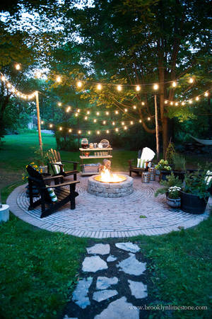 home renovation ideas backyard fairy lights