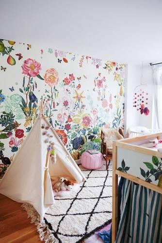 brooklyn apartment moroccan rugs