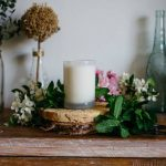 home renovation ideas candle wreath