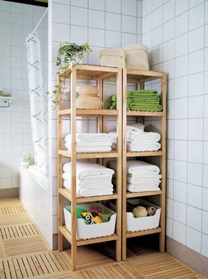 home renovation ideas bathroom shelves