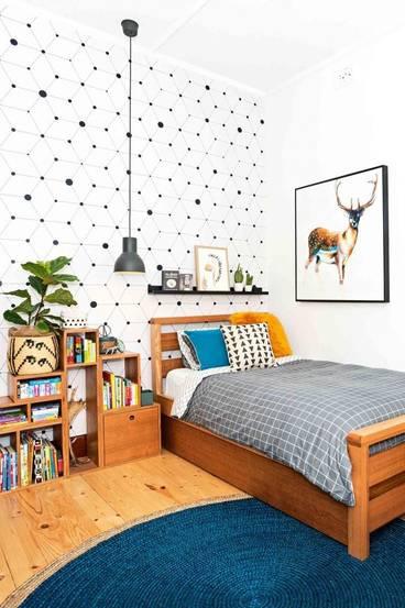 woodland kid bedroom