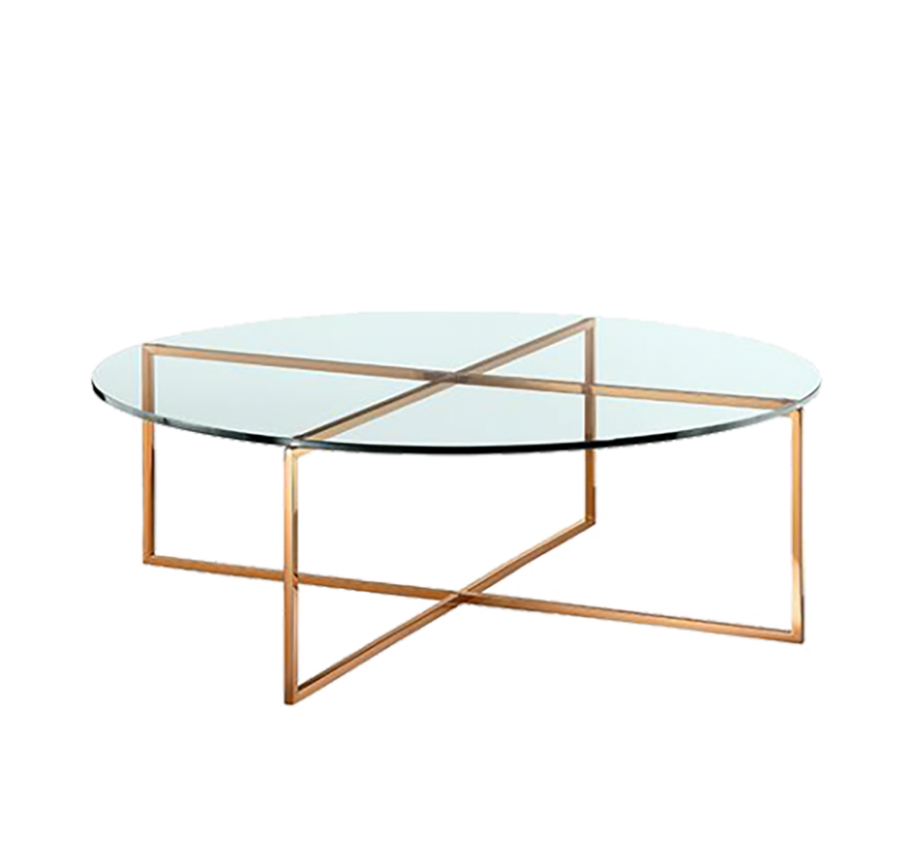 art deco glass table