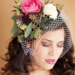melbourne cup fashion fresh flower fascinator