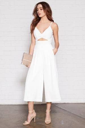 white pants suit melbourne cup fashion