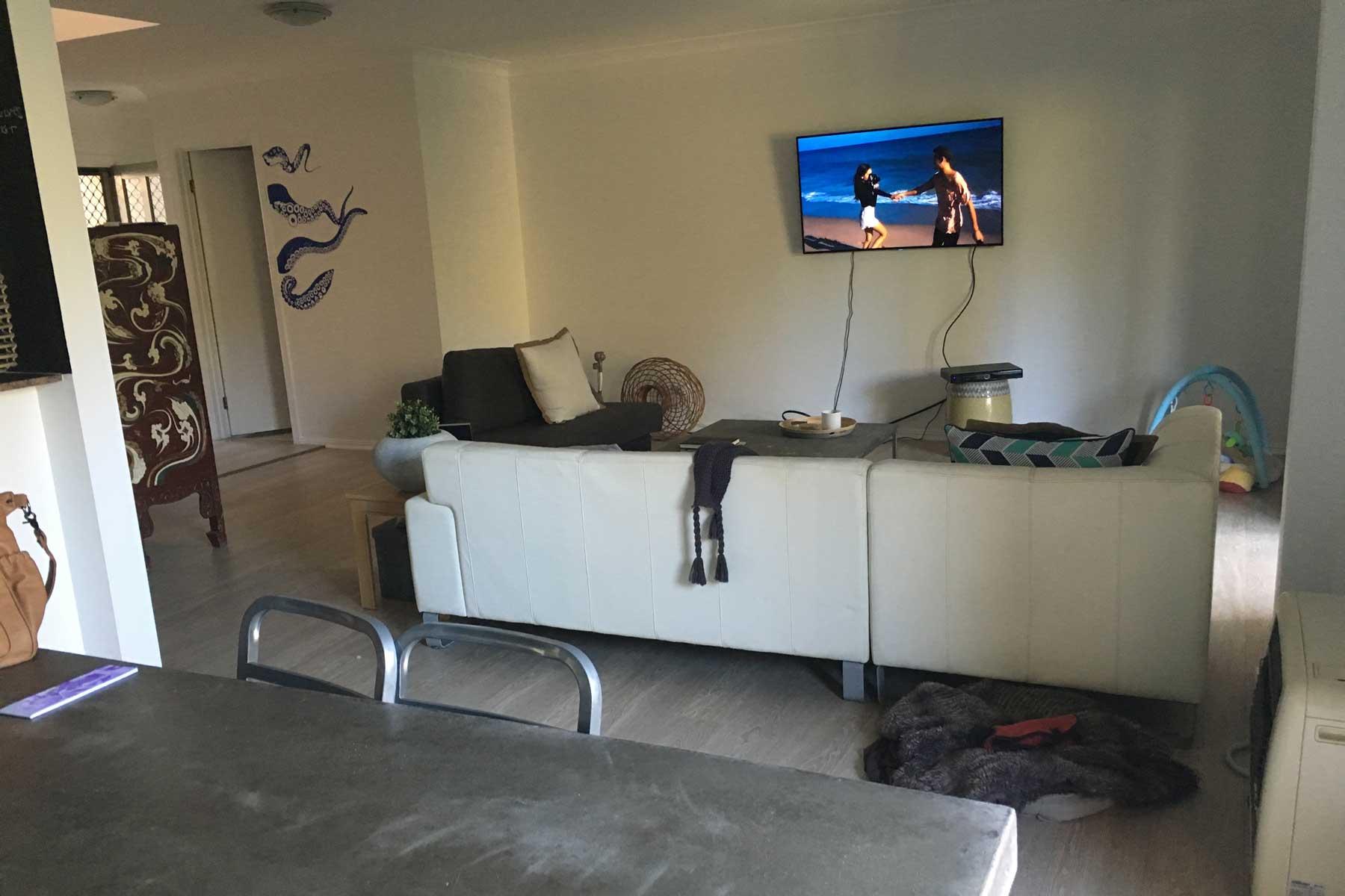 Amandas scandi living room - before - tv