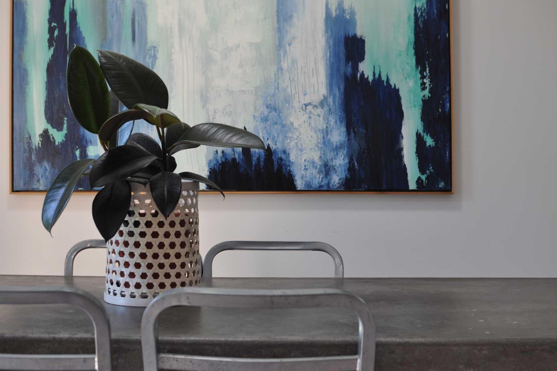 Amandas scandi living room - feature 2