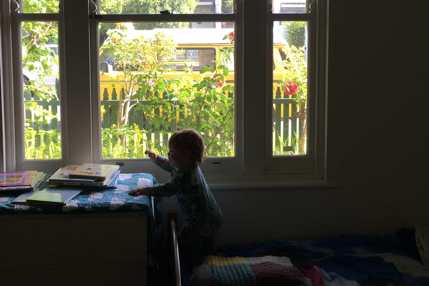 Lauras scandi home office - before - child window