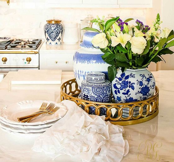Mediterannean interior design accessories