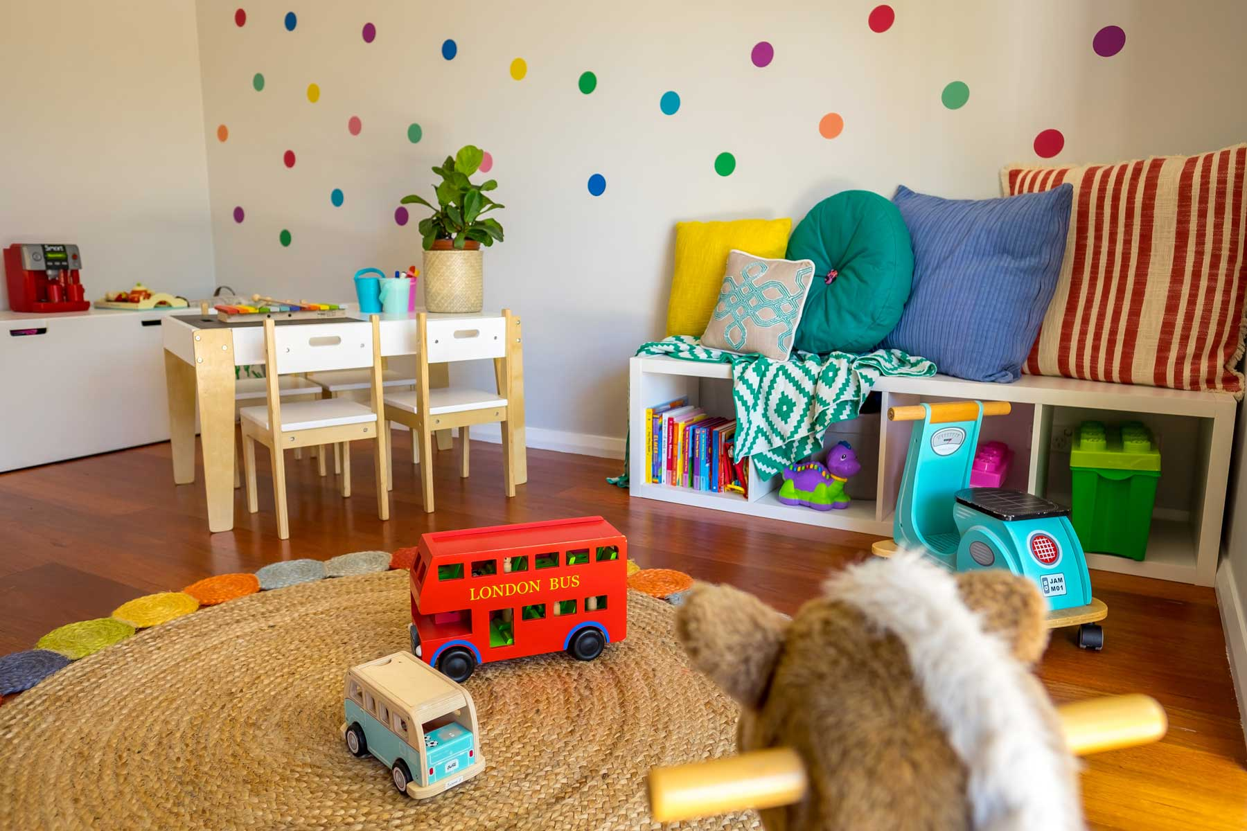 Rebecca's Modern Kid's Playroom - after - lowershot
