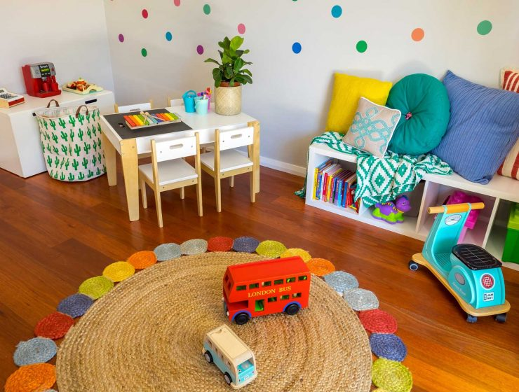 Rebecca's Modern Kid's Playroom - feature