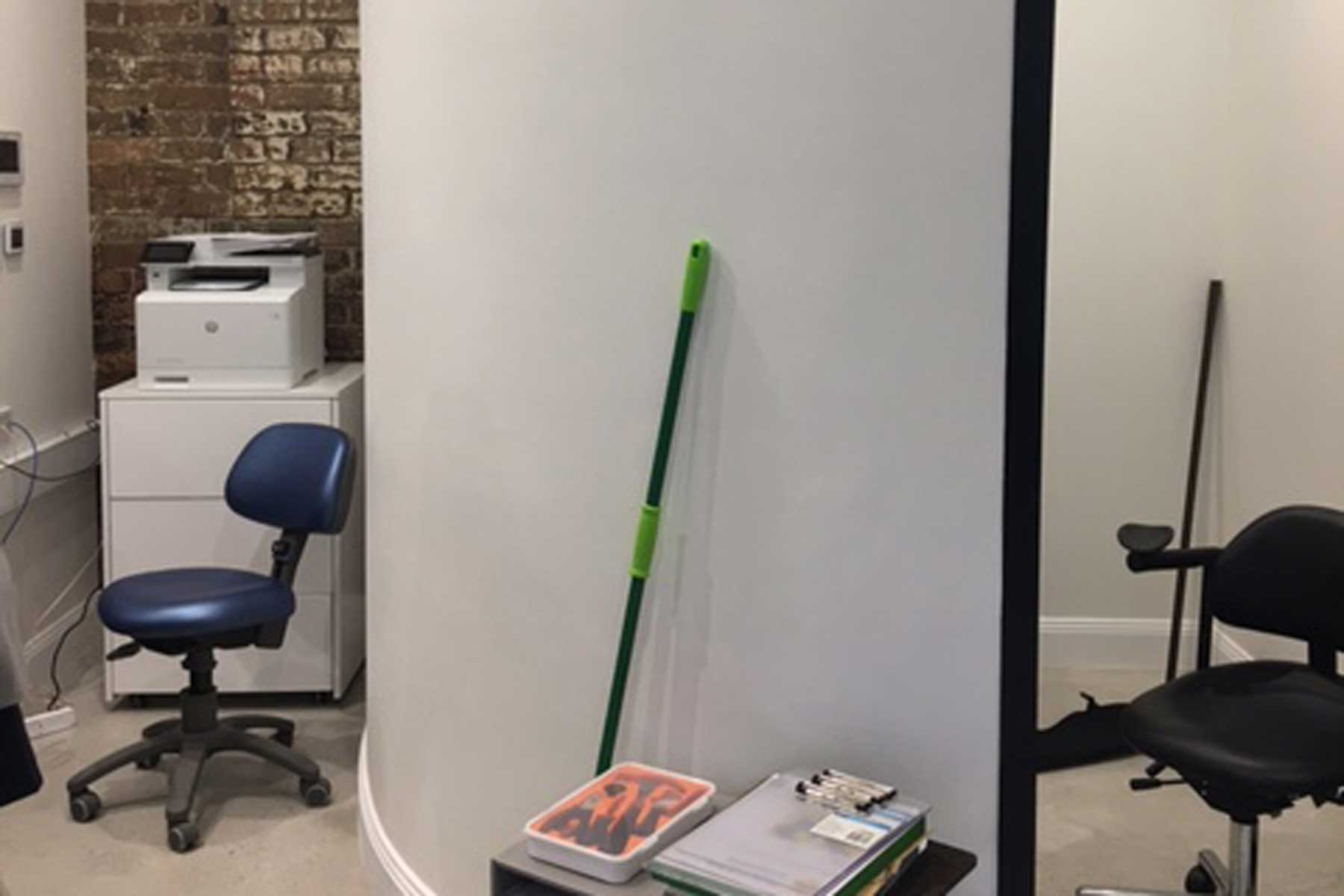 Soothing Care Dental - before - messy