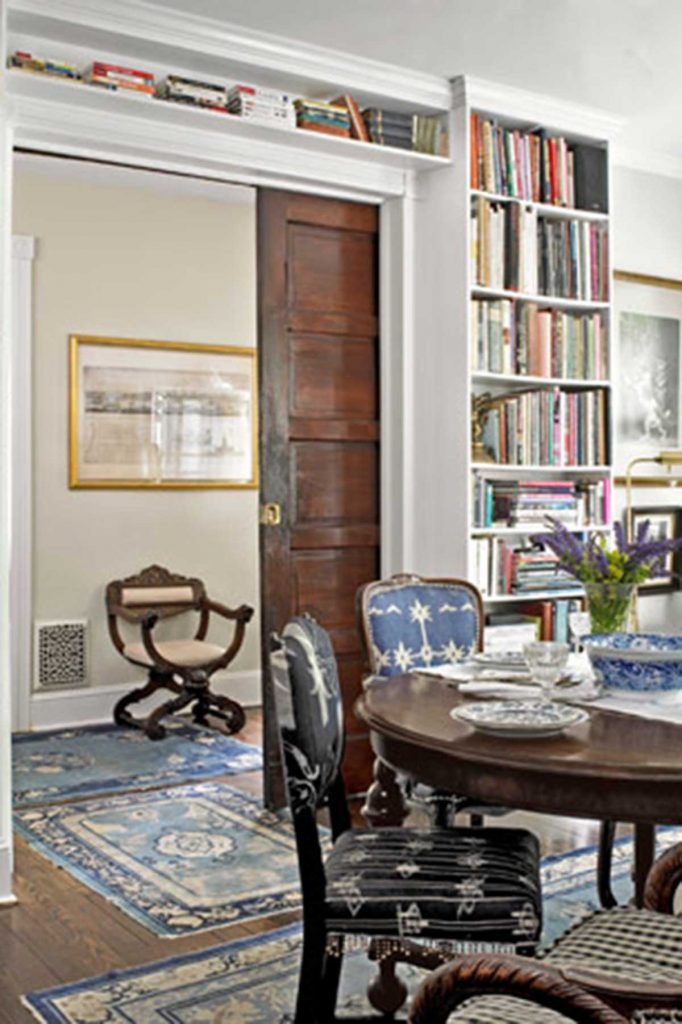 Vintage interior design dining room