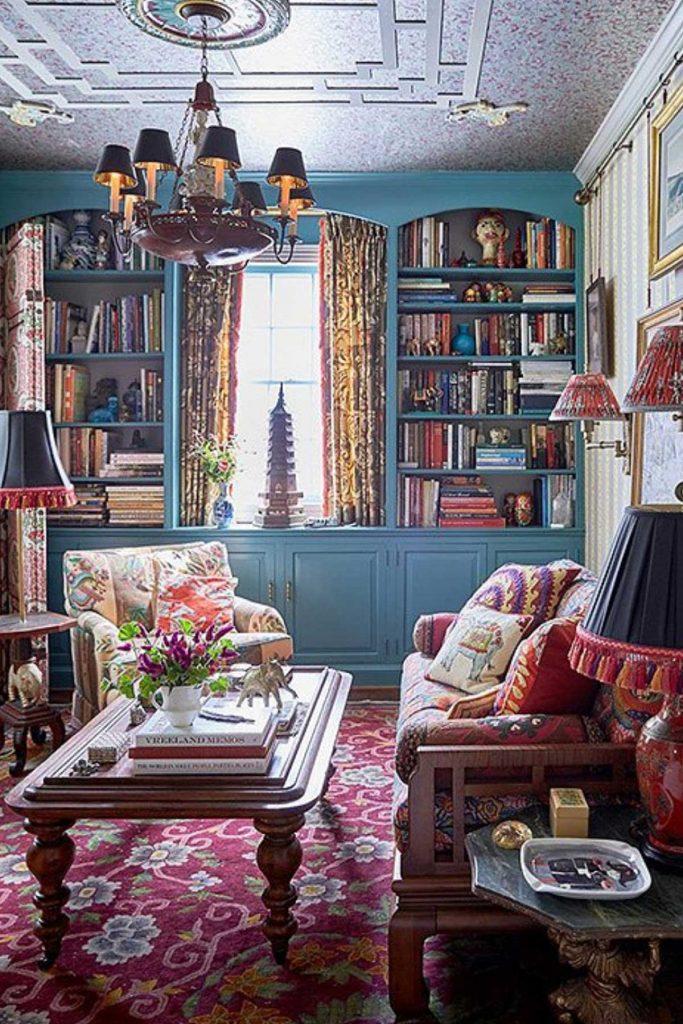 Vintage living room furnishings