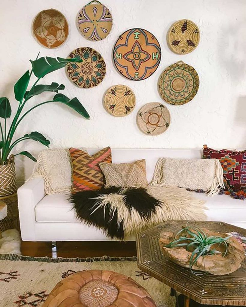 home interior design styles boho summer