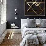 luxe contemporary interior design master bedroom