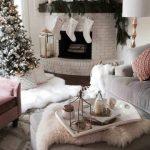 Christmas decorations living room