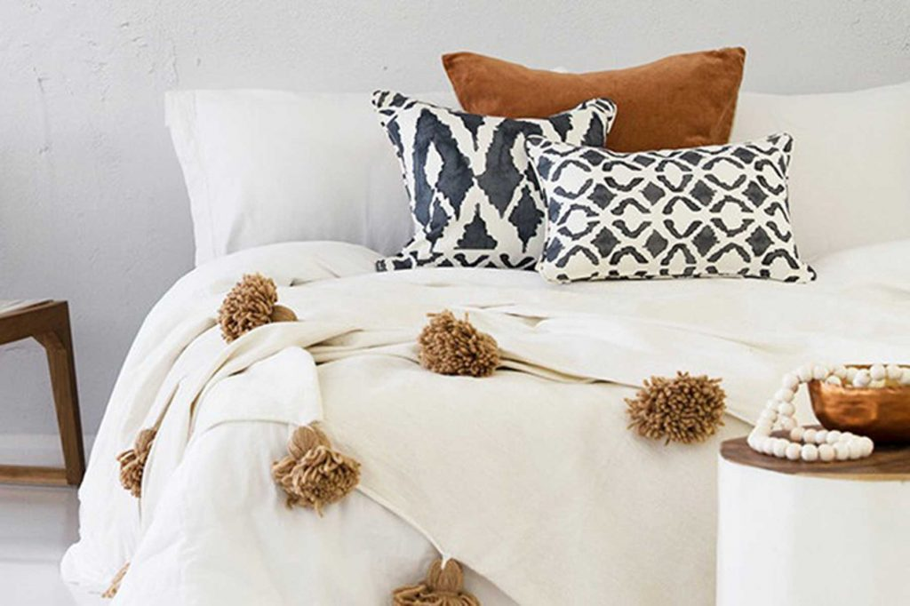 tribal bedding decor