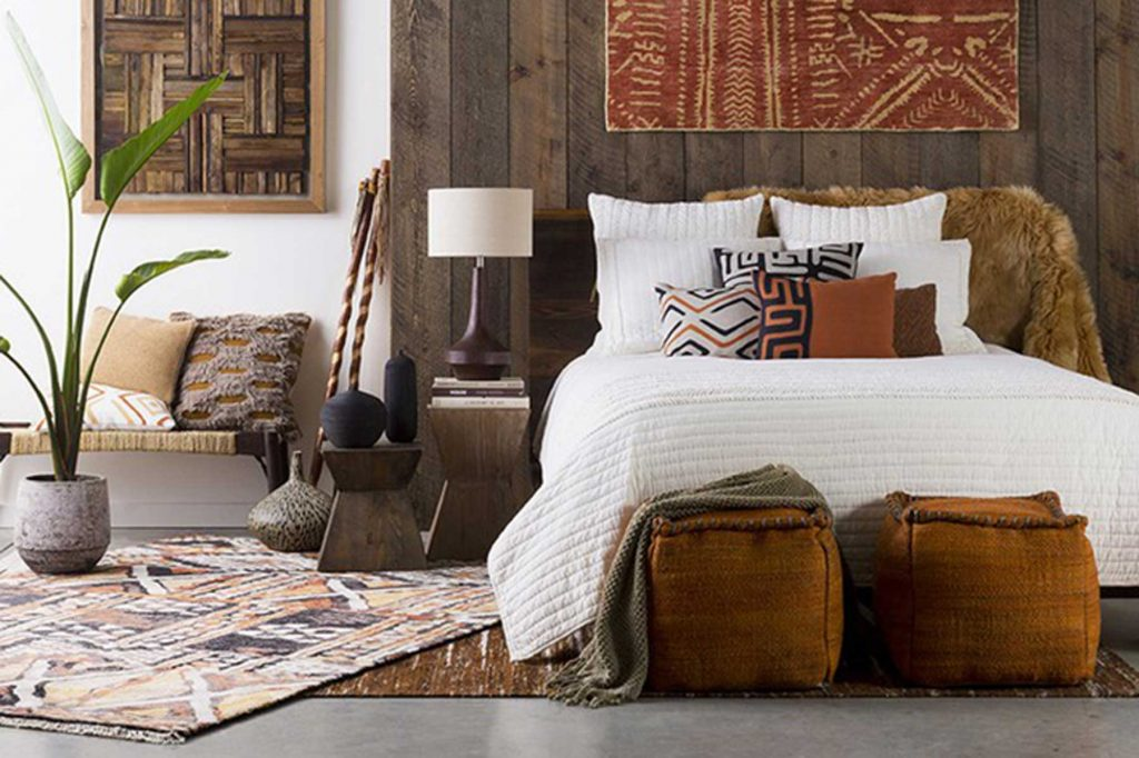 tribal interior design bedroom decor