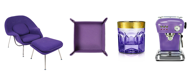 pantone 2018 ultra violet furnishings