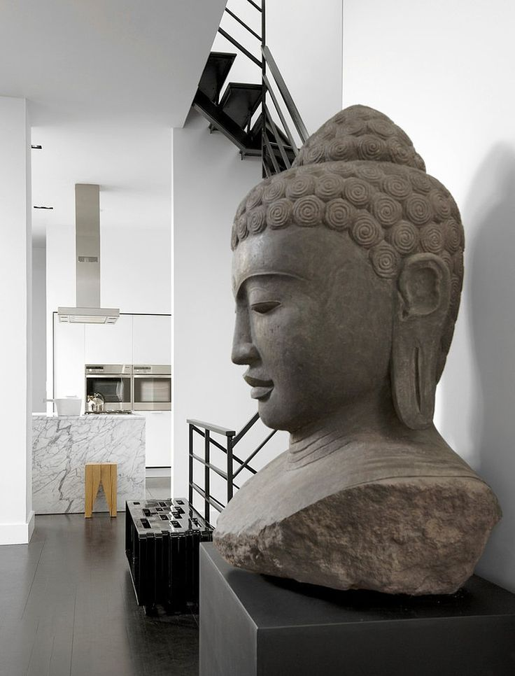 asian interior design buddha
