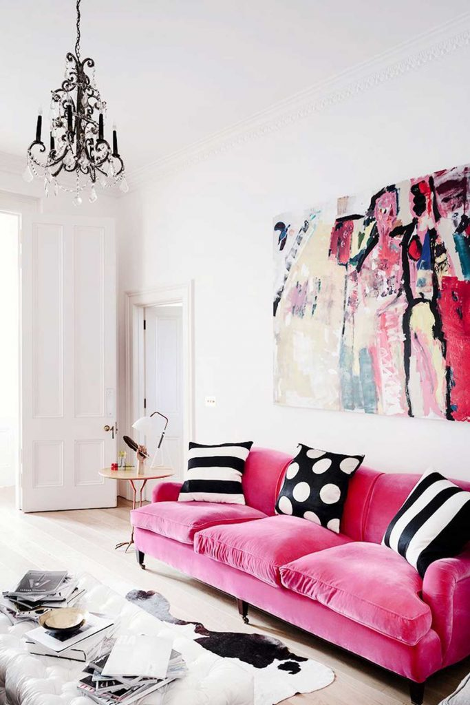 modern eclectic lounge