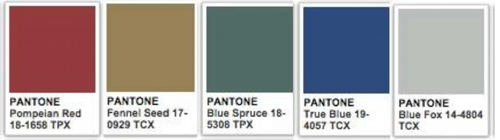 traditional interior design pantone