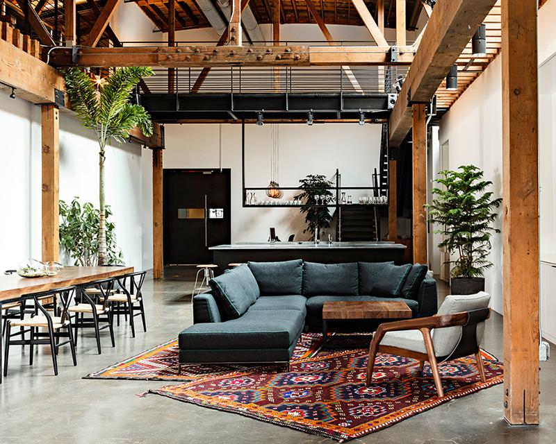 rustic interior natural living space