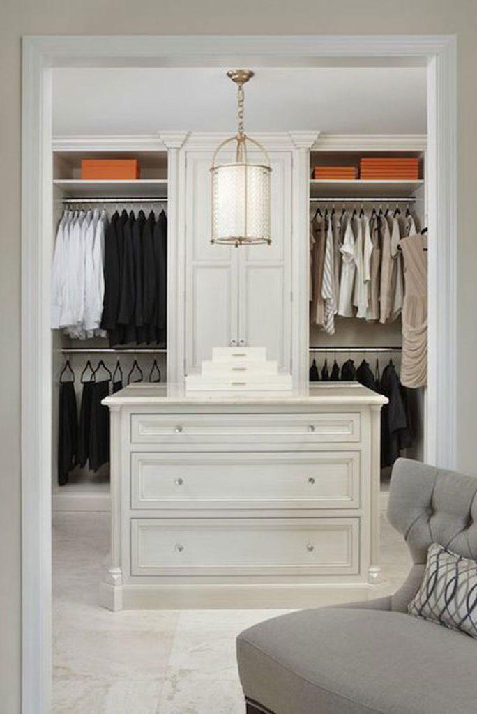 closet design couples walk in robe