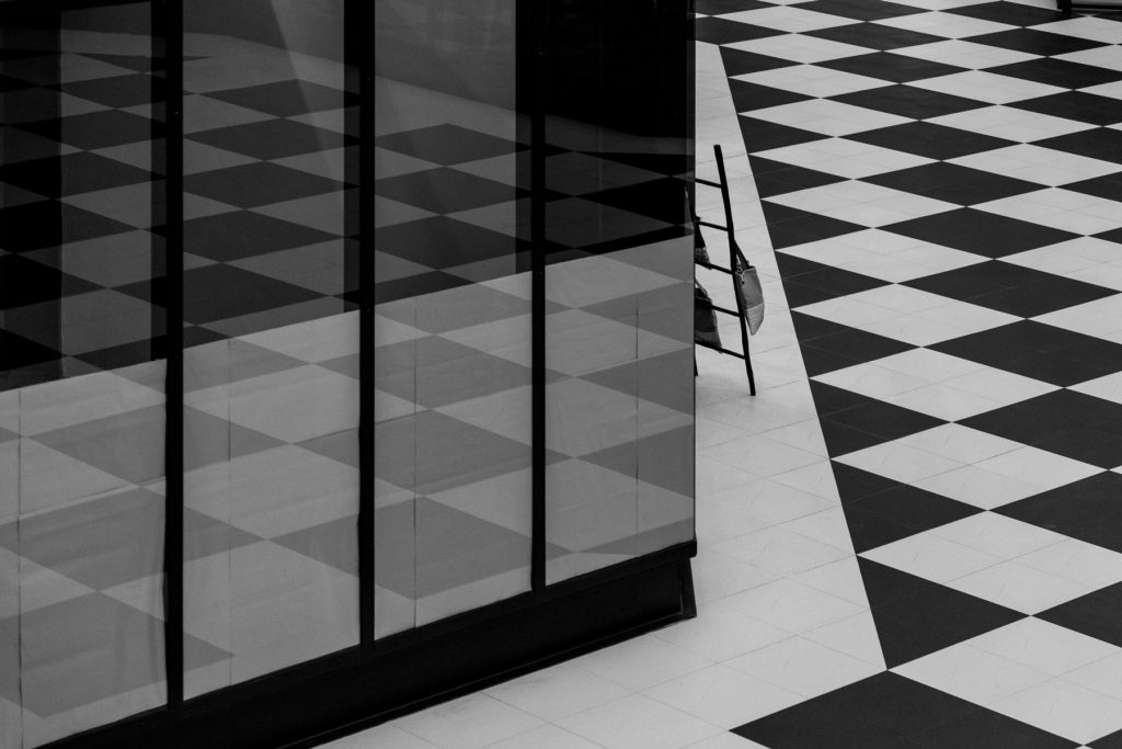 tiles flooring black and white