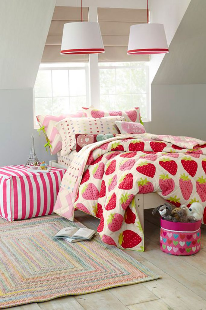 strawberry quilt cover colour trend