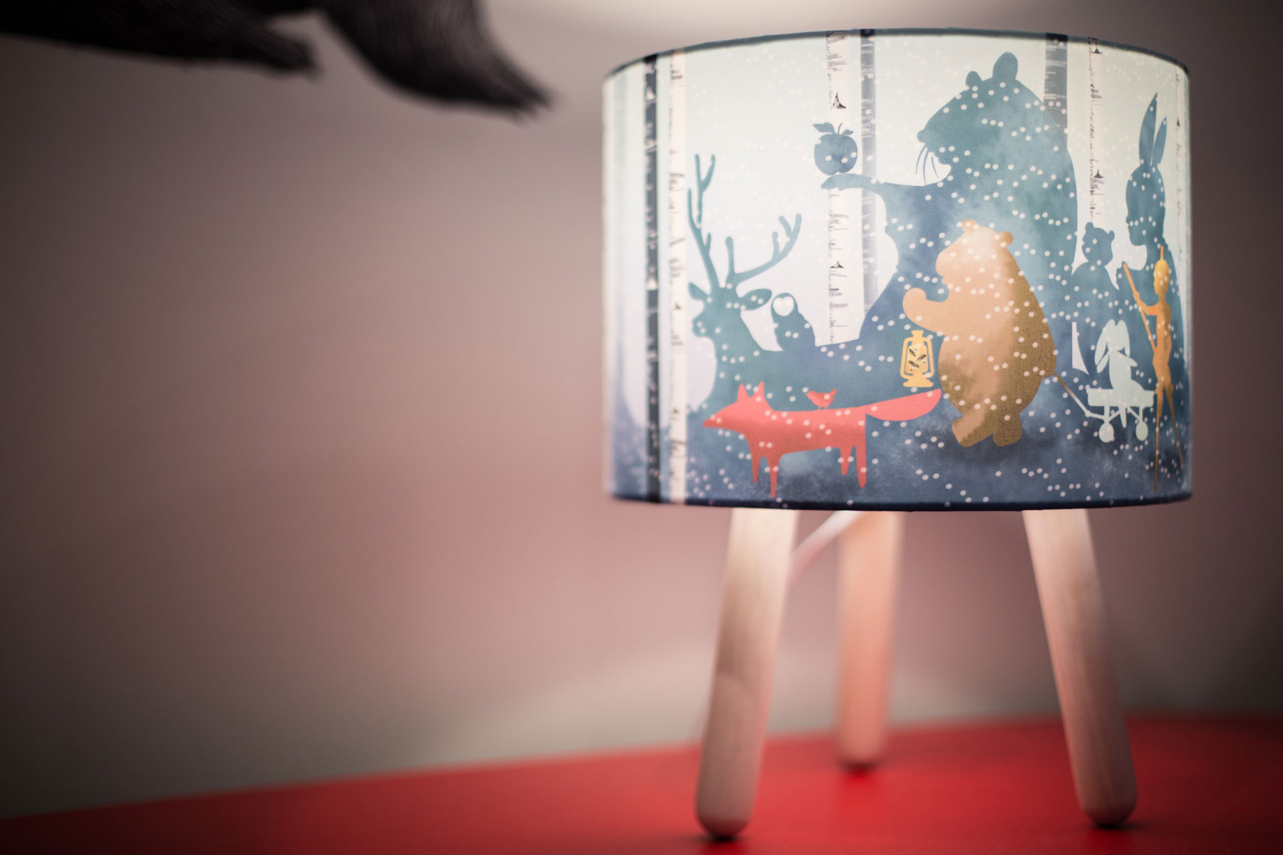 Corinna forest lamp - after