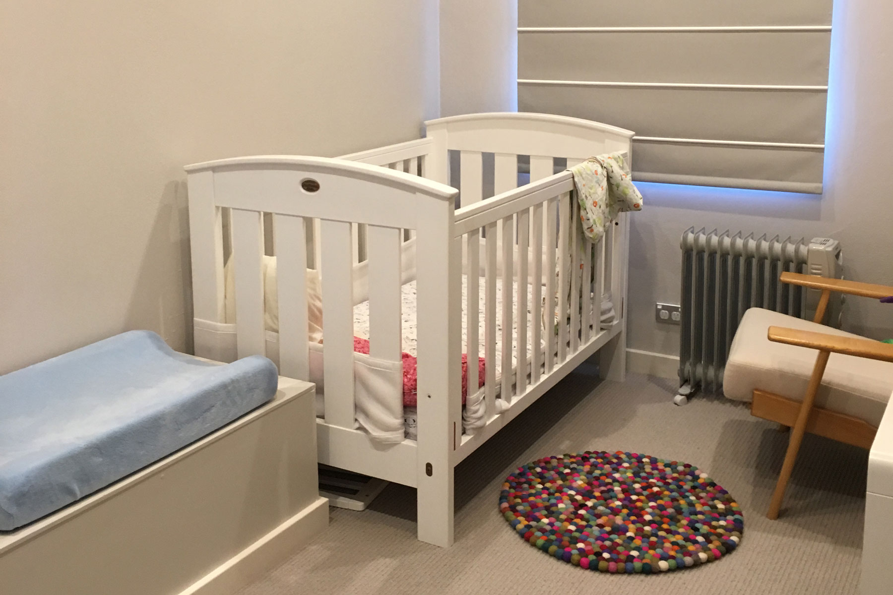 Corinna nursery room - before